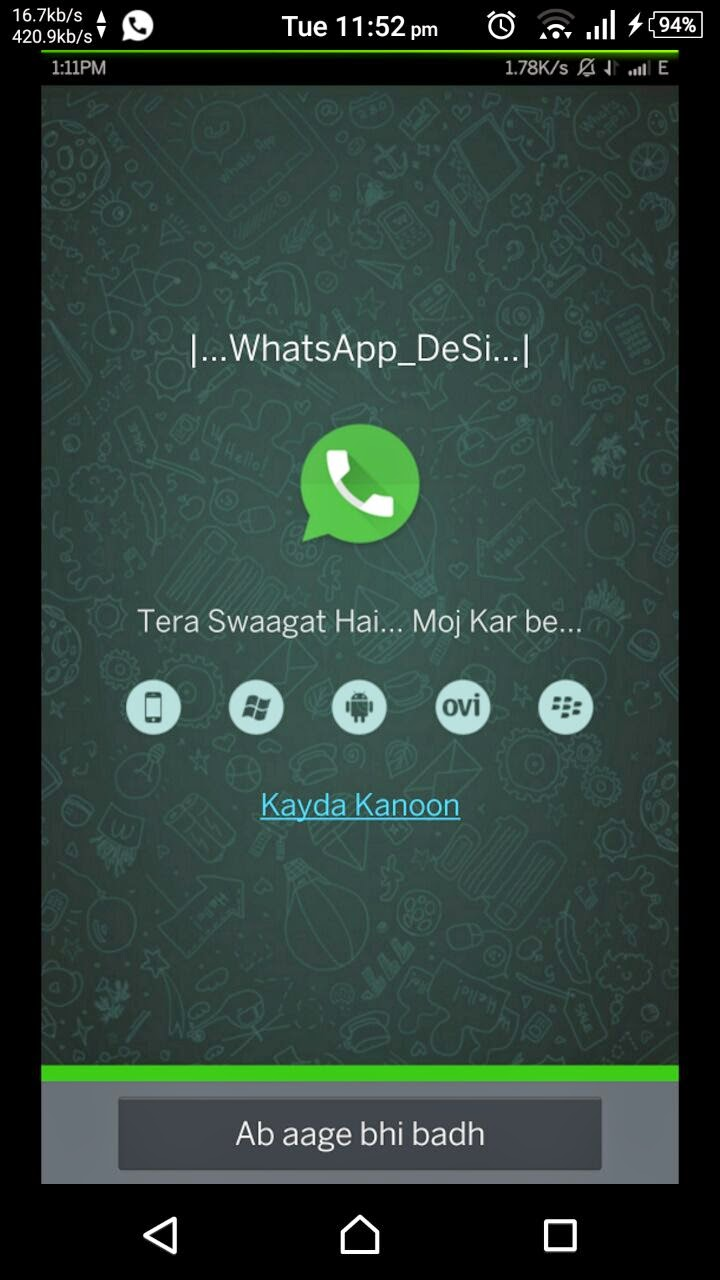 Steps Required To Download WhatsApp Desi